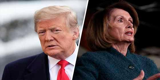 Cierre del gobierno: la inaudita respuesta de Trump a Nancy Pelosi a quien canceló un viaje a Afganistán y Bélgica