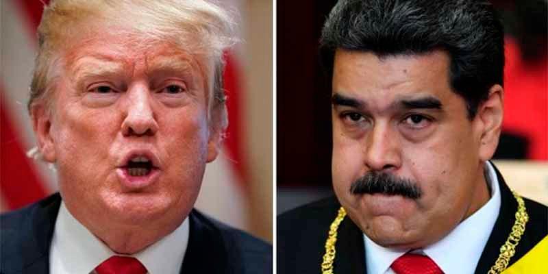 El dictador Maduro se caga y para no enfadar a Trump retira la petición de que se marchen los diplomáticos de EEUU