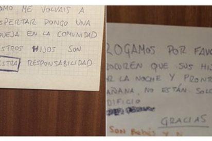 Esta brillante respuesta de un padre al vecino que se quejó del llanto de su bebé lo peta en Twitter