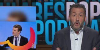 """Las 'bestias' de la TV3: """"El nuevo logo del PP pretende ser un corazón, pero parece un culo, o los cojones de Pablo Casado"""""""