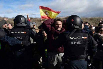 FITUR: Un detenido y cinco policías heridos en los disturbios provocados por los taxistas