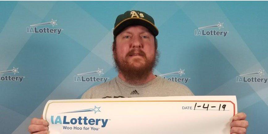 El cheque de lotería más 'triste' entregado en Estados Unidos