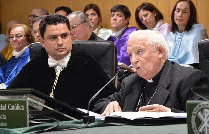 """Cañizares: """"Nuestra Universidad recoge la llamada del Papa, que es el mandato de Jesucristo 'Id y haced discípulos'"""""""
