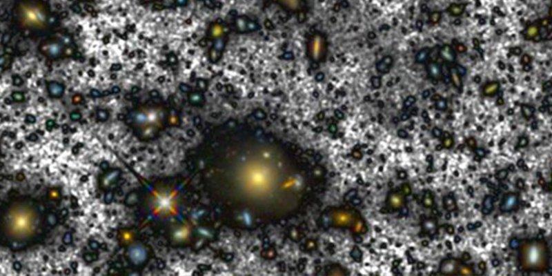 ¿Sabes qué muestra la imagen más profunda del universo nunca antes vista?