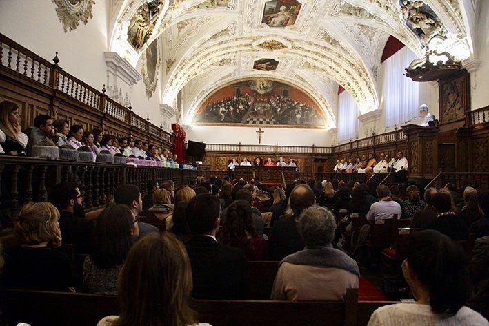 La UPSA celebra el día del patrón de las universidades
