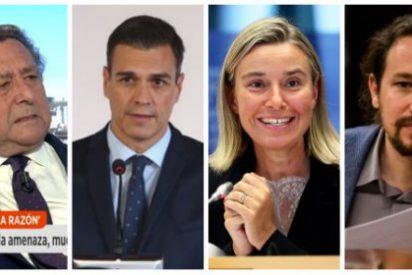 """Alfonso Ussía estalla con Venezuela: carga contra el inoperante Sánchez, la """"putita"""" de la UE y los """"psicópatas"""" de Podemos"""