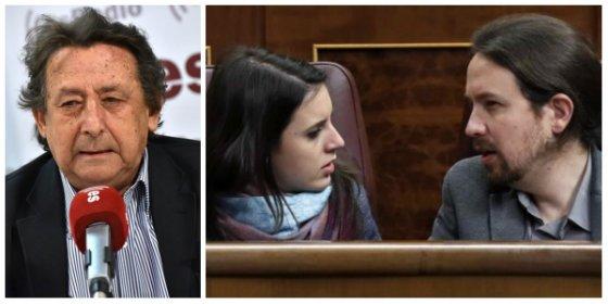 Alfonso Ussía congela la sonrisa a Pablo Iglesias e Irene Montero desvelando un pavoroso dato demoscópico