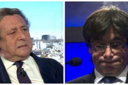 "Ussía masacra al paranoico Puigdemont: ""Eres miserable, un cagueta con el cerebro chamuscado"""
