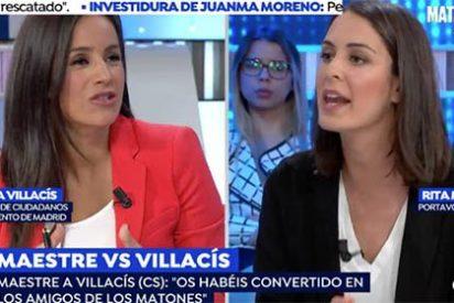 """Rita Maestre pierde los papeles contra Villacís en TV: """"¡Os habéis convertido en los amigos de los matones!"""""""