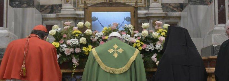 """Francisco pidió caminar """"con paso firme"""" hacia la unidad de los cristianos"""