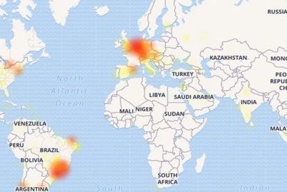 WhatsApp sufre una caída a escala mundial