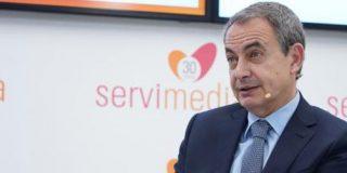 """Zapatero: """"La democracia daría un paso adelante si Franco sale del Valle"""""""