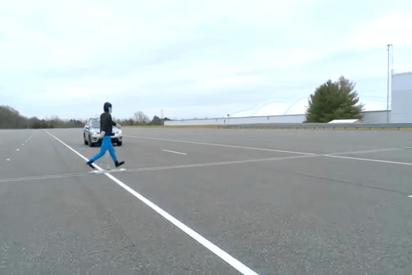 (VIDEO): ¡Fracaso! El detector de peatones del BMW X1 no detecta ni uno