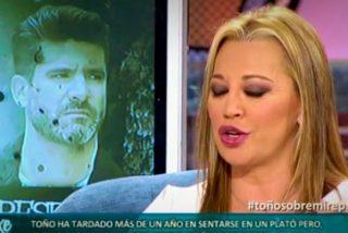 Belén Esteban se mete en un lío tremendo al desvelar un secreto que une a Toño Sanchís con un jefazo de Telecinco