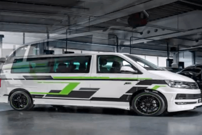 Volkswagen se saca de la manga una versión eléctrica de su furgoneta T6 ¡Impresionante!