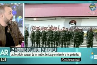 Tartamudo, tosco y mentiroso: las falsedades de Antonio Maestre para defender a Maduro
