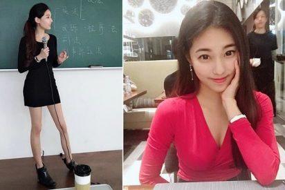 Ésta es la profesora más bella de Taiwán