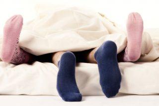 El sexo con calcetines puestos facilita mejores orgasmos