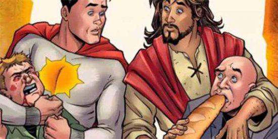 Supermán arremete contra Jesucristo