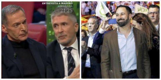 La miserable pregunta de Hilario Pino al ministro Marlaska para poner a Vox en el centro de la diana
