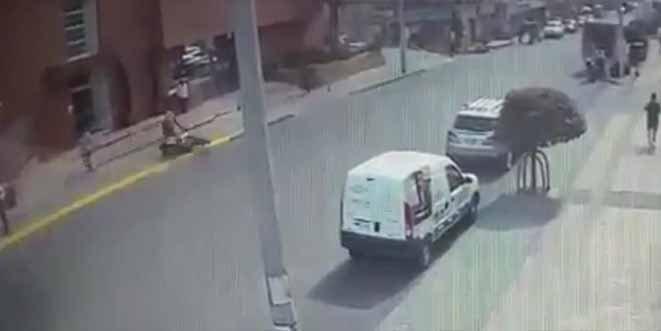 El vídeo que muestra el accidente en el que perdió la vida un joven motorista