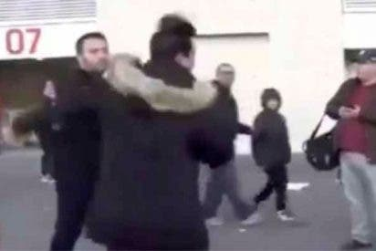 Vergonzosa agresión a dos hinchas del Real Madrid a la salida del Wanda Metropolitano