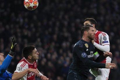 La UEFA explica así de claro el gol anulado del Ajax frente al Real Madrid