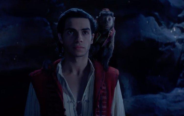 """Disney estrena el tráiler de """"Aladdín"""", con un azul Will Smith"""