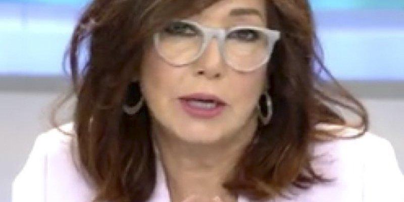 """La discusión de Ana Rosa Quintana en directo: """"Discúlpeme, pero es la primera vez que yo le hablo"""""""