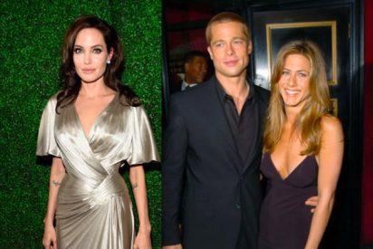 Así reaccionó Angelina Jolie al saber que Brad Pitt fue al cumpleaños de Jennifer Aniston
