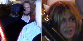 ¿La reconciliación del año?: Brad Pitt in fraganti en el cumpleaños de Jennifer Aniston