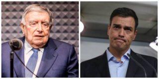 ¡Qué visionario eres, Anson! Baboso masaje a Pedro Sánchez horas antes de tumbarle los Presupuestos