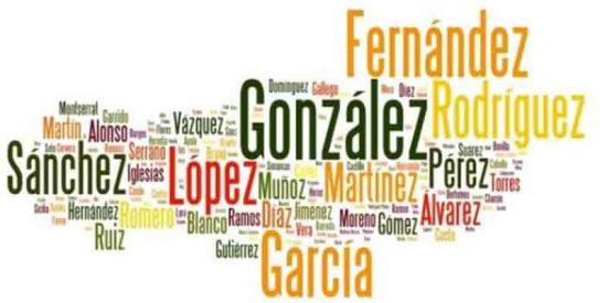 ¿Sabes cuántas personas tienen tu apellido en todo el mundo?