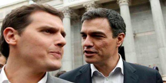 """Albert Rivera increpa a Pedro Sánchez: """"¿Indultará a los líderes del procés?"""""""