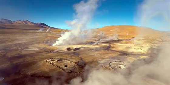 Lugares más remotos del mundo: Desierto de Atacama, Chile