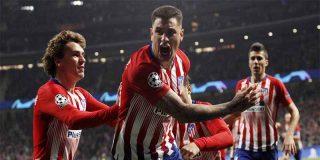 El Atlético de Madrid gana a la Juventus de Cristiano (2-0) y pone pie y medio en cuartos de la Champions