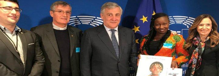 Augusta, de las calles de Sierra Leona al Parlamento Europeo