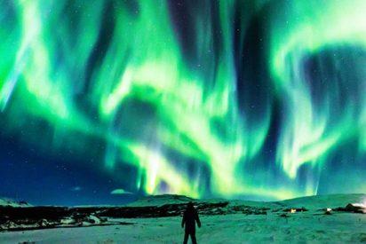 La NASA comparte la espectacular foto de un 'dragón polar'