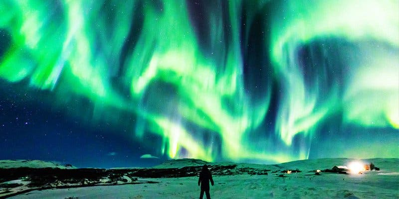 La NASA comparte la espectacular foto de un 'dragón polar'
