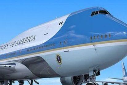Ni te imaginas lo que pasó antes del despegue del avión de Trump