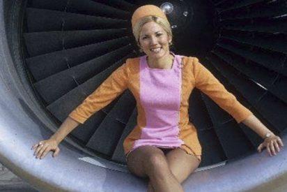Mira cómo era viajar en avión hace años