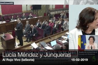 """A Lucía Méndez le da pena Junqueras, porque """"al menos Mandela y Gandhi consiguieron algo"""""""