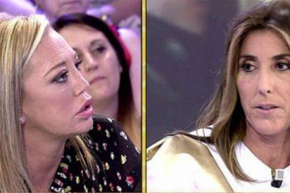 """Bronca monumental entre Paz Padilla y Belén Esteban en directo: """"Como amiga te digo que esto sobra..."""""""