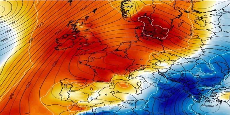 Éste es el 'monstruo' meteorológico que nos trae la primavera en mitad del invierno