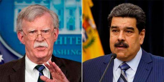 EEUU amenaza al dictador Maduro con encerrarlo en la prisión de Guantánamo si sigue bruto