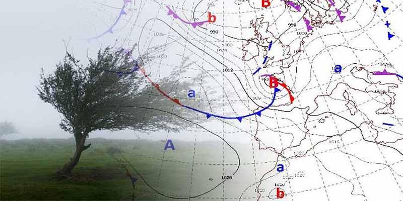 La borrasca Helena pone en alerta a la Península Ibérica, con vientos de hasta 100 km/h