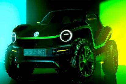 Así es el impresionante 'buggy' eléctrico de Volkswagen que viene del futuro