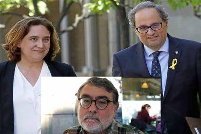 Torra y Colau apoyan la huelga del terrorista que descuartizó a Bultó pegándole una bomba al pecho