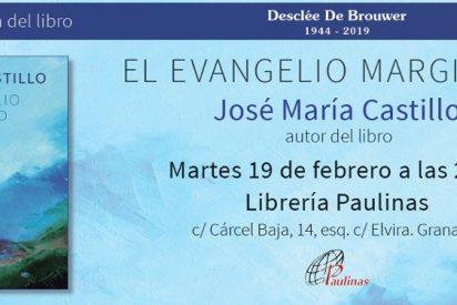 El teólogo Castillo presenta en Granada su nuevo libro 'El Evangelio marginado'