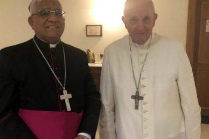 El Papa recibe al presidente de los obispos peruanos, Miguel Cabrejos